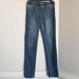 Kids 12 skinny Jeans elastic waist  stretch pants